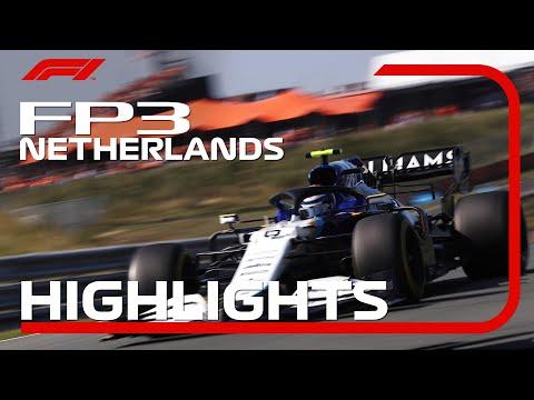 F1 第13戦オランダGP(ザントフォールト)FP3のハイライト動画