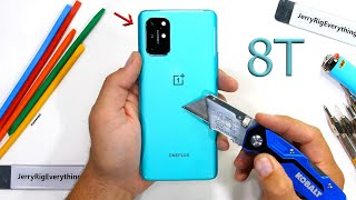 OnePlus 8T Durability Test - Is it worth the Ice Cream?