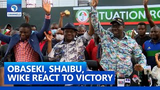 FULL VIDEO: The Great People Of Edo State Have Spoken – Obaseki