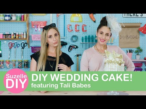 How to Make a DIY Wedding Cake (featuring Tali Babes)