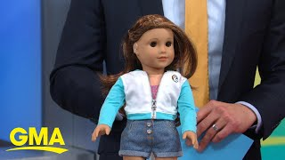 American Girl's 2020 girl of the year is 1st doll with hearing loss l GMA