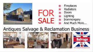 Architectural Salvage UK   Salvage Business   FOR SALE!