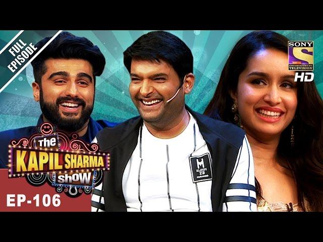 The Kapil Sharma Show – Episode 106 – May 14th 2017 | Arjun, Shraddha