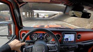 2020 Jeep Wrangler Rubicon EcoDiesel - POV Review