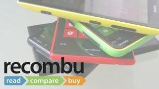 Nokia Lumia 520, 620, 720, 820 and 920 comparison