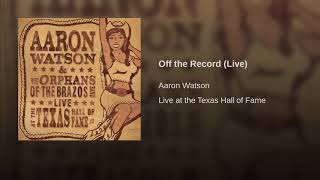 Off the Record (Live)