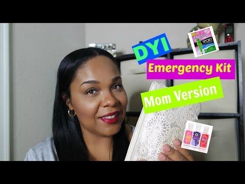Emergency Kit / Mom Version
