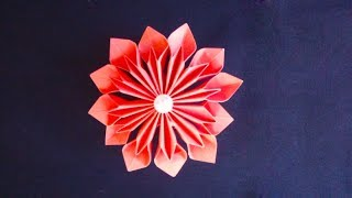 How To Make Paper Flowers Without Glue Paper Flower Craft Making