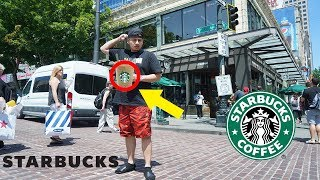 VISITING THE FIRST STARBUCKS EVER!!