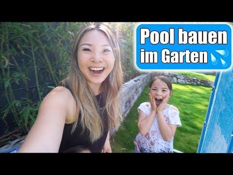 Wir bauen einen Pool im Garten 😍 Der Sommer kann kommen! Familienleben mit Kindern | Mamiseelen