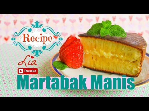 Video Resep & tips sukses membuat martabak manis/bangka | Indonesian pancake recipe (ENG SUB)