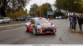 preview picture of video 'Rallye de France WRC 2012 ES19 ES22 Epreuve Speciale Haguenau 7 octobre 2012'