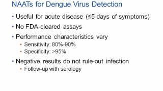 Dengue Virus – A Diagnostic Testing Update [Hot Topic]