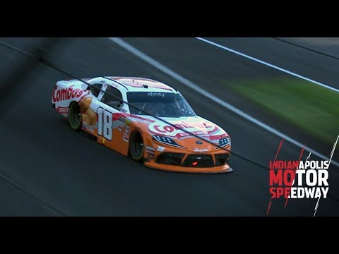 Busch holds off Allgaier to win at Indy | NASCAR in Indianapolis
