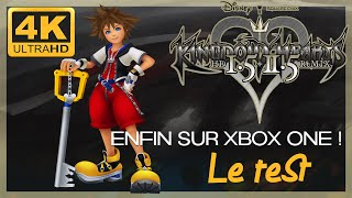 ❤️ [Test 4K]  Kingdom Hearts HD 1.5 + 2.5 ReMIX sur Xbox One X !