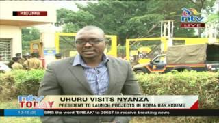 Uhuru campaigns in Raila's backyard - VIDEO