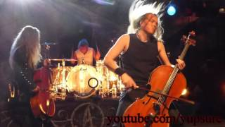 Apocalyptica Master of Puppets (Metallica Cover) Live HD HQ Audio!!! Starland Ballroom