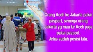 Viral Warga Aceh Buat Paspor untuk Pergi ke Jakarta, Perbandingan Harga Tiket Pesawat Jadi Sorotan