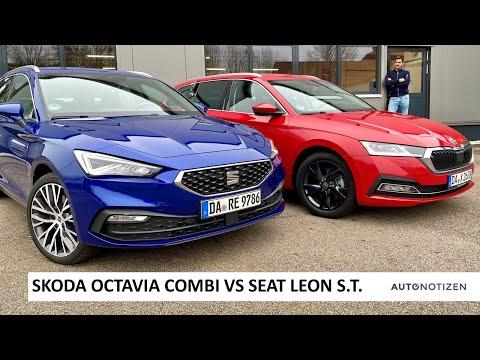 Skoda Octavia Combi vs Seat Leon Sportstourer 2021: Vergleich, Test, Review, Fahrbericht