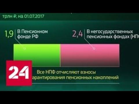 Россия в цифрах. Система гарантирования пенсионных накоплений - Россия 24