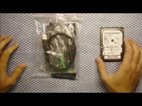 How to make Internal hard drive External – 2.5 SATA External Case (HDD Enclosure)