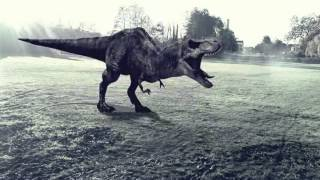 Adobe AE T-rex breath TEST