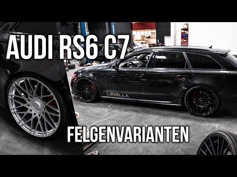 LEVELLA | Audi RS6 C7\/4G | Wir testen Felgenvarianten