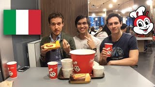 Italians Try Jollibee For The First Time