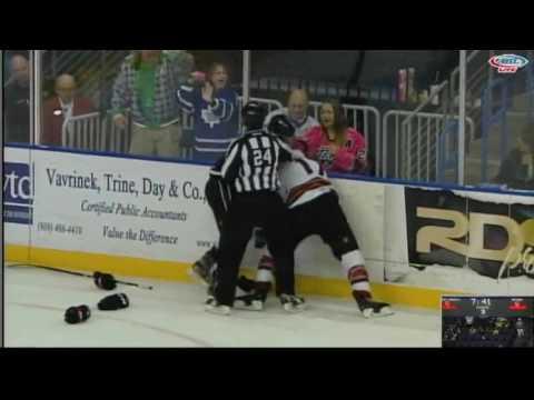 Joel Lowry vs. Ryan MacInnis