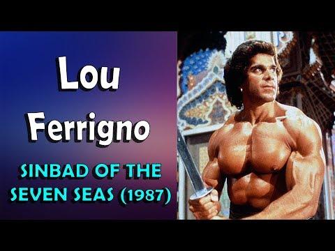 LOU FERRIGNO - Sinbad of the seven seas (1987)