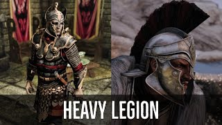 Skyrim Armor Mods | Heavy Legion - Imperial Armors - PC | XBOX