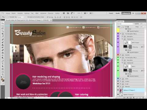 Beauty Salon A4 Flyer Tutorials Mp3