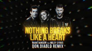 Mark Ronson Ft. Miley Cyrus   Nothing Breaks Like A Heart (Don Diablo Remix)