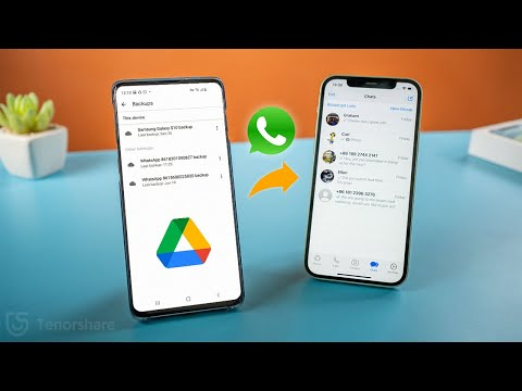 how to restore whatsApp backup from google drive to iphone