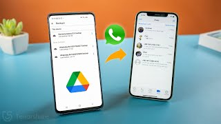 How to Restore WhatsApp Messages from Google Drive to iPhone