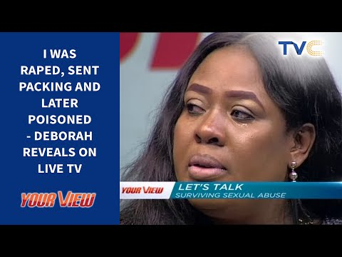My Step-Father Raped Me At 12, To The Knowledge Of My Mother - Live TV Revelation