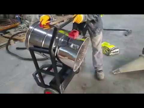DTM-533 Çimento Tozu, Kalekim İçin Siklon Filtreli Elektrik Süpürgesi