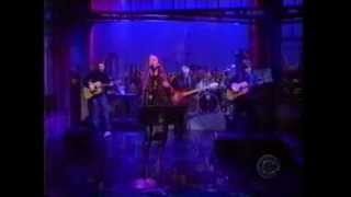 Alanis Morissette performs 'Unsent' on The Late Show, Nov or Dec 1998