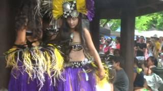 Cook Island Dance At The Saturday Market In Avarua 2