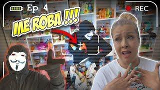 Descubrimos El ESCONDITE SECRETO Del HACKER MISTERIOSO Del Tejado | Nos Roba !!