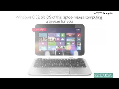 "HP ENVY X2 11-G004TU 11.6"" Notebook (Black)"