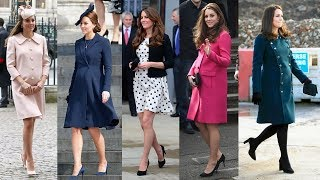Kate Middletons Best Maternity Outfits & Pregnancy Style Looks