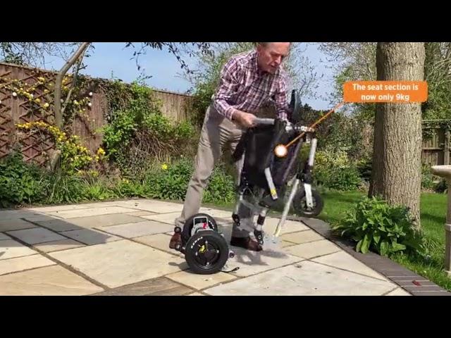 E Goes Joyrider Electric Wheelchair Folding Powered Video