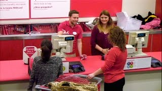 Kevin the Cashier Goes to Target