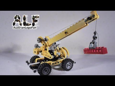 Vidéo LEGO Technic 8270 : La grue tout-terrain