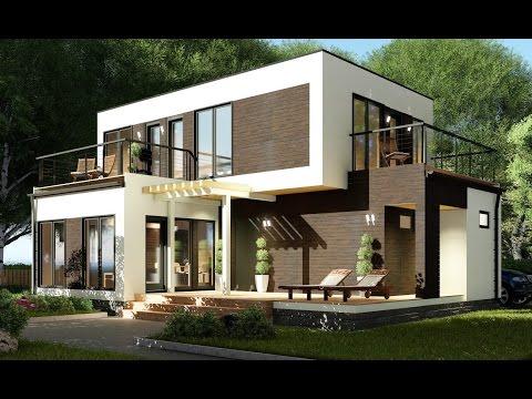 Современный модульно-каркасный дом