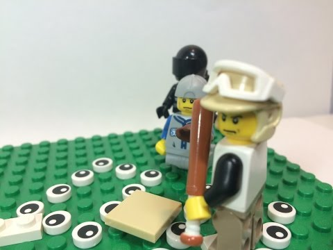 LEGO MOC BASEBALL STADIUM UPDATE #1