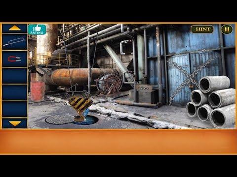 Escape Game Abandoned Railway Factory walkthrough FEG.
