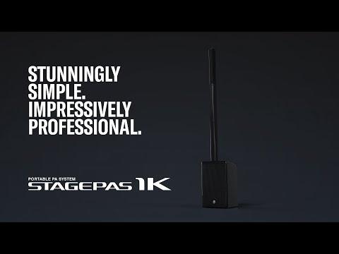 ה-STAGEPAS 1K  - מערכת הגברה ניידת