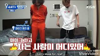 (Super TV) Lee Donghae And Shindong's Invasion To Hee Chul And Leeteuk Room. No One Can Sleep